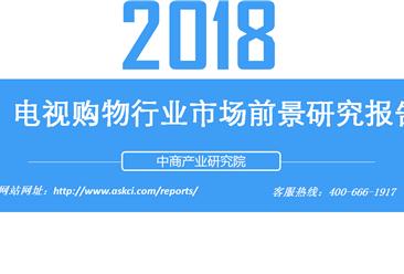 2018年电视购物行业市场前景研究报告(附全文)