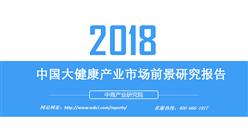 2018年中国大健康产业市场前景研究报告(附全文)