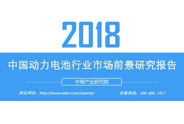 2018年中国动力电池行业市场前景研究报告(附全文)