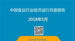 2018年1-5月中國食品行業經濟運行月度報告(附全文)
