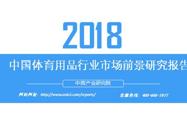 2018年中国体育用品行业市场前景研究报告(附全文)