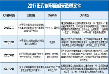 2018年农村网络零售额将突破1.6万亿 农村电商行业政策一览(表)