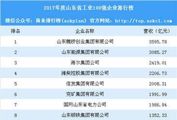 2018年山东省工业100强企业排行榜:山东能源集团第二