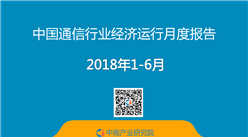 2018年上半年中國通信行業月度分析報告 (附全文)
