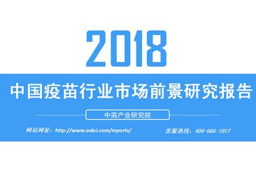 2018年中国疫苗行业市场前景研究报告(附全文)