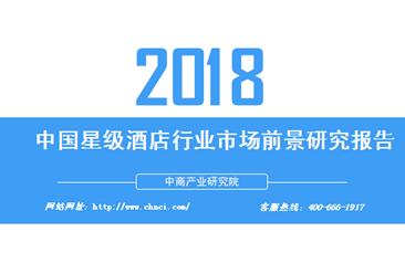 2018年中国星级酒店行业市场前景研究报告(全文)