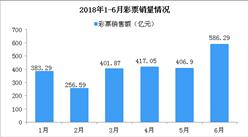 2017年6月全國彩票銷售情況分析:銷售額同比大漲73.2%(附圖表)