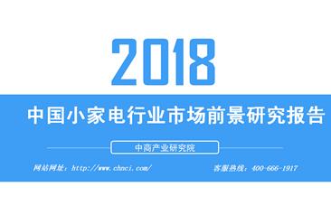 2018年中国小家电行业市场前景研究报告(全文)