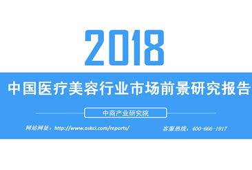 2018年中国医疗美容行业市场前景研究报告(附全文)