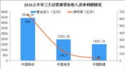 2018上半年三大运营商业绩大PK:究竟谁的实力更强?(附图表)