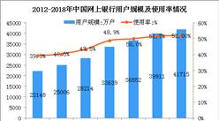 2018上半年中国网上银行用户数据分析:用户规模达4.17亿(图)