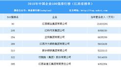 2018年中国企业500强排行榜(江西篇)