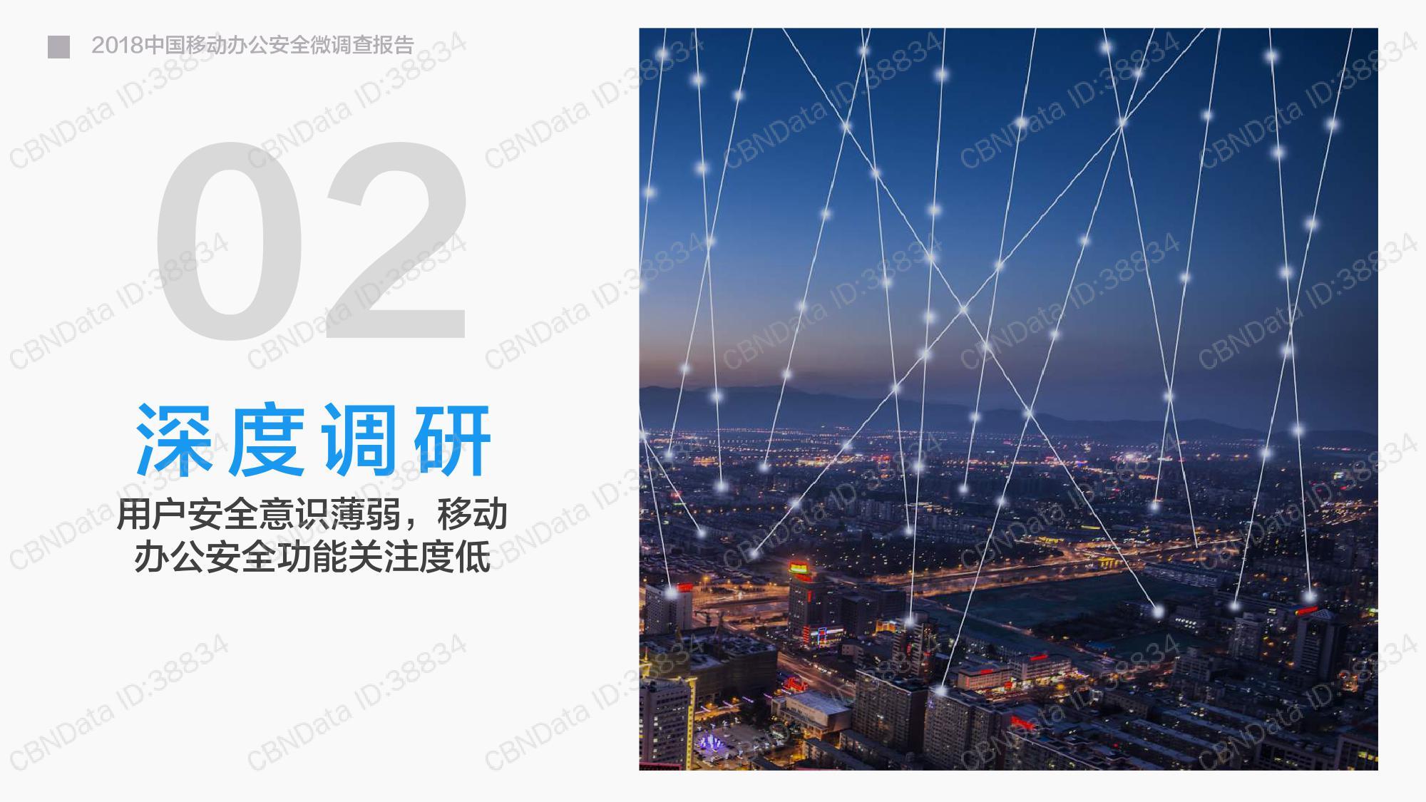 2018年中国移动办公安全微调查报告:使用社交软件进行移动办公面