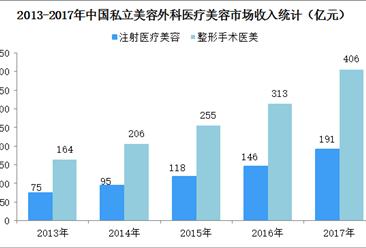 中国私立医疗美容市场规模统计分析:整容收入规模突破400亿元(图)