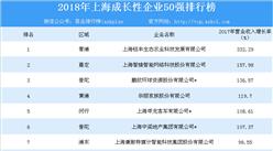 2018年上海成長性企業50強排行榜