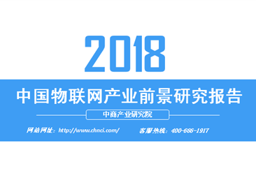 2018年中国物联网产业前景研究报告