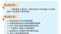 三亚乡村振兴战略规划日前对外发布 全方位推进乡村振兴战略(图)