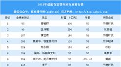2018年胡潤百富鋰電池行業排行榜(附全榜單)