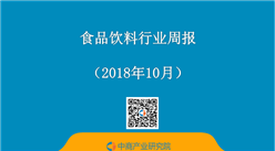 2018年10月食品飲料行業周報:水井坊前三季度實現凈利4.36億 同比增長9成(10.22-10.28)