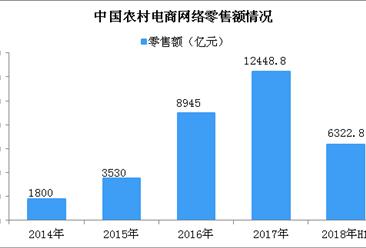 2018上半年农村电商市场规模破6000亿元  农村电商行业五大发展趋势预测(图)