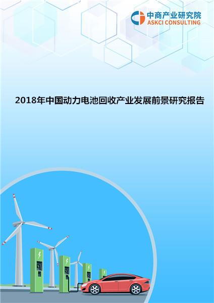 2018年中国动力电池回收产业发展前景研究报告