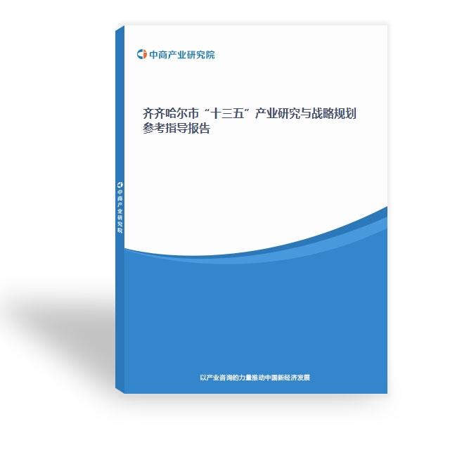 """齐齐哈尔市""""十三五""""产业研究与战略规划参考指导报告"""