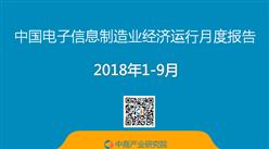 2018年1-9月中国电子信息制造业经济运行数据分析(图)
