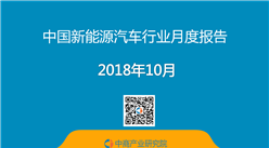 2018年1-10月中国新能源汽车行业月度报告(完整版)