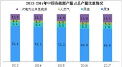 中国能源生产分析:清洁能源产量占比不断提高(图)