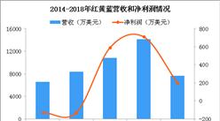 红黄蓝股价暴跌 2018红黄蓝经营数据分析(图)
