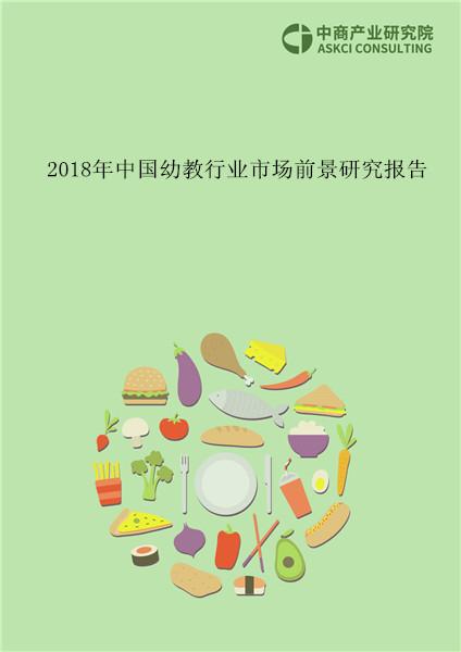 2018年中国幼教行业市场前景研究报告
