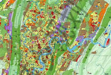 2018年重庆市工业梦之城娱乐下载地址、城市用地规划及产业转移分析