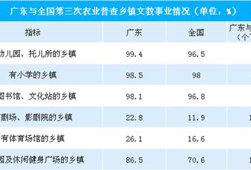广东省新农村基础设施建设的成效明显   进一步推动乡村振兴战略实施(附图表)
