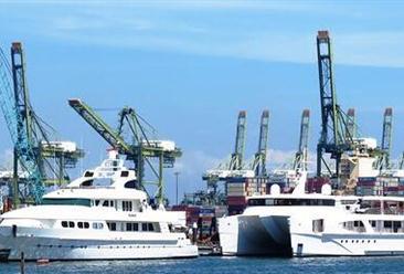 2018年11月中国船舶出口量为472艘 同比下降38.7%