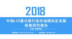 2018年中國LED顯示屏行業市場現狀及發展前景研究報告