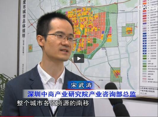 平度政务网报道:中商产业研究院为青岛平度南部新区构建现代服务产业体系