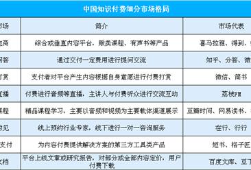 爱奇艺入局知识付费市场  我国知识付费市场规模及竞争格局分析(附图表)