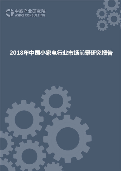 2018年中国小家电行业市场前景研究报告