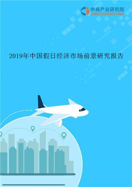 2019年中国假日经济市场前景研究报告