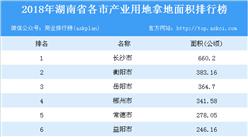 产业用地小鱼儿玄机2站:小鱼儿玄机2站年湖南省各市产业用地拿地面积排行榜