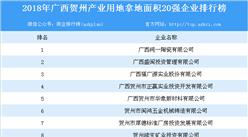 产业用地情报:2018年广西贺州市产业用地拿地面积20强企业排行榜