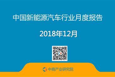 2018年1-12月中国新能源汽车行业月度报告(完整版)