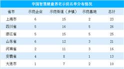 智慧养老模式大势所趋   我国智慧健康养老示范项目地区分布汇总(表)