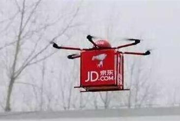 京东物流无人机印尼首飞  一文看懂中国物流无人机产业链全景图