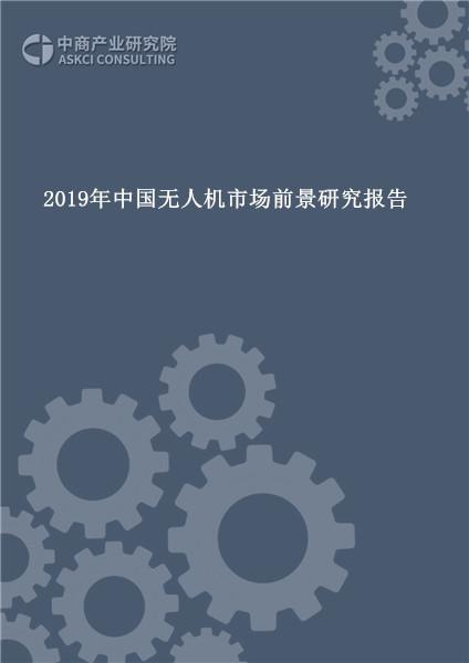 2019年中国无人机市场前景研究报告