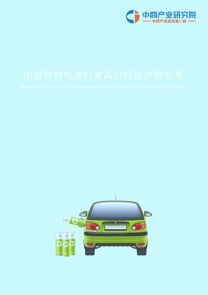 燃料电池投资月度报告(2019年1月)