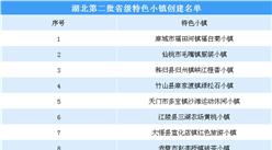 第三批国家级特色小镇申报:湖北第二批省级特色小镇创建名单一览(附表)