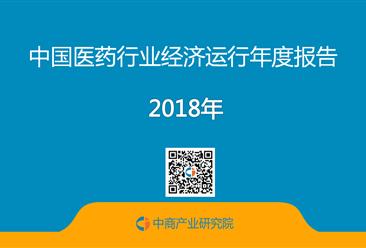 2018年中国医药行业经济运行年度报告(全文)