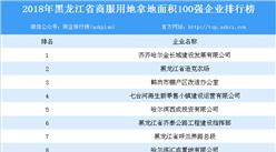 商業地產招商情報:2018年黑龍江省商服用地拿地面積百強企業排行榜