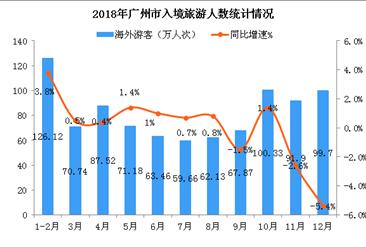 2018年广州市入境旅游数据分析:入境过夜游客超900万(附图表)
